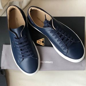 comment chercher construction rationnelle styles divers NWB Axel Arigato navy leather Clean 90 sneaker NWT